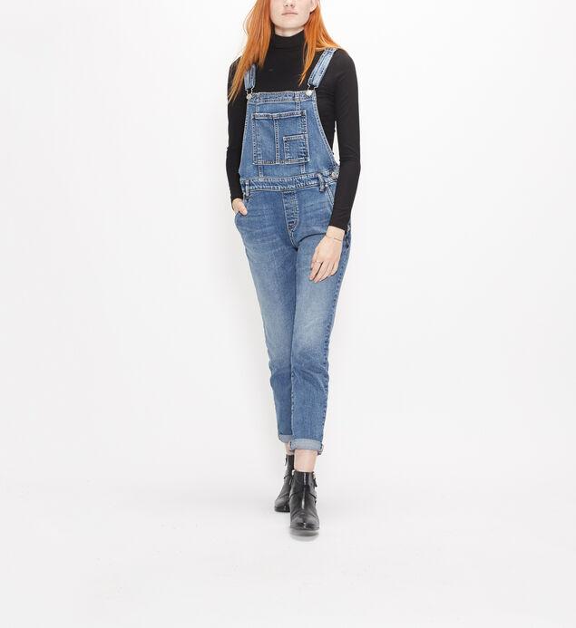 Overalls Skinny Leg Jeans