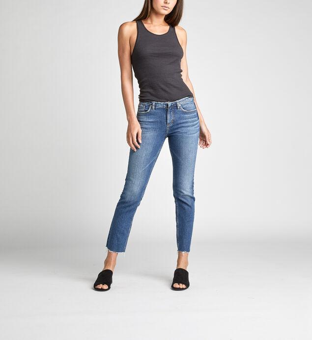 High Note High Rise Slim Leg Jeans