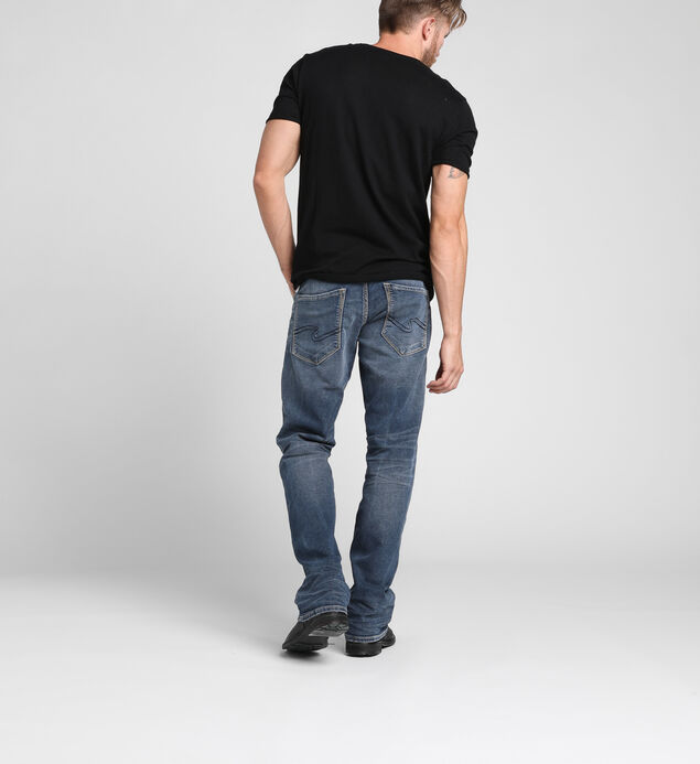 Zac Relaxed Straight Jeans, , hi-res