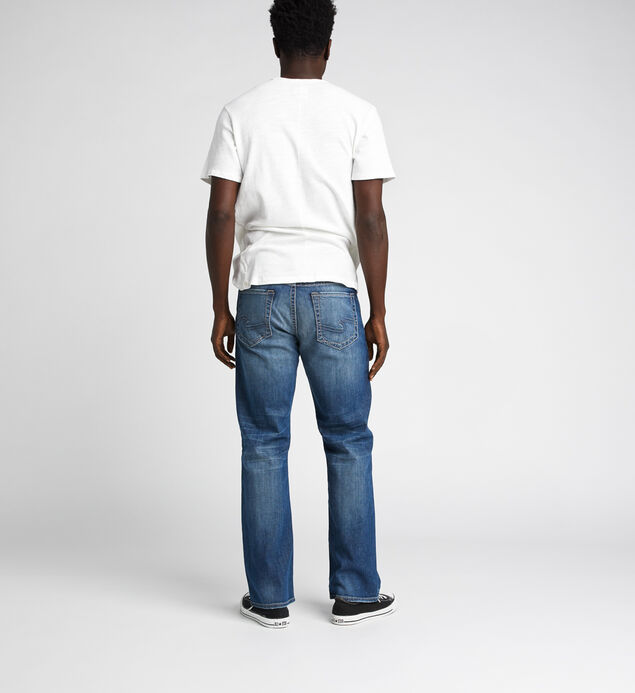 Craig Easy Fit Bootcut Jeans, Indigo, hi-res
