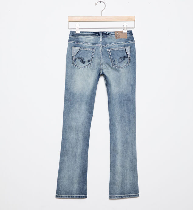 Tammy Bootcut Jeans in Medium Wash (7-16), , hi-res