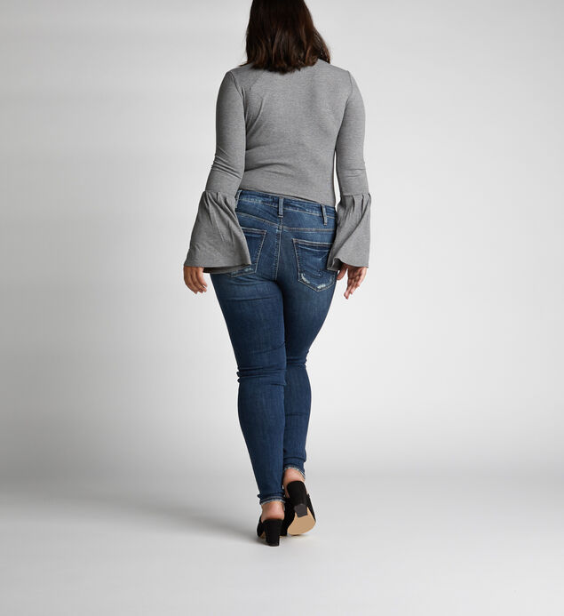 Avery High Rise Skinny Leg Jeans Plus Size, , hi-res