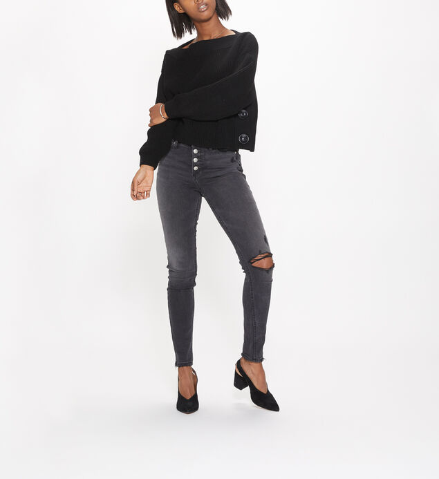 Robson High Rise Faded Black Jegging