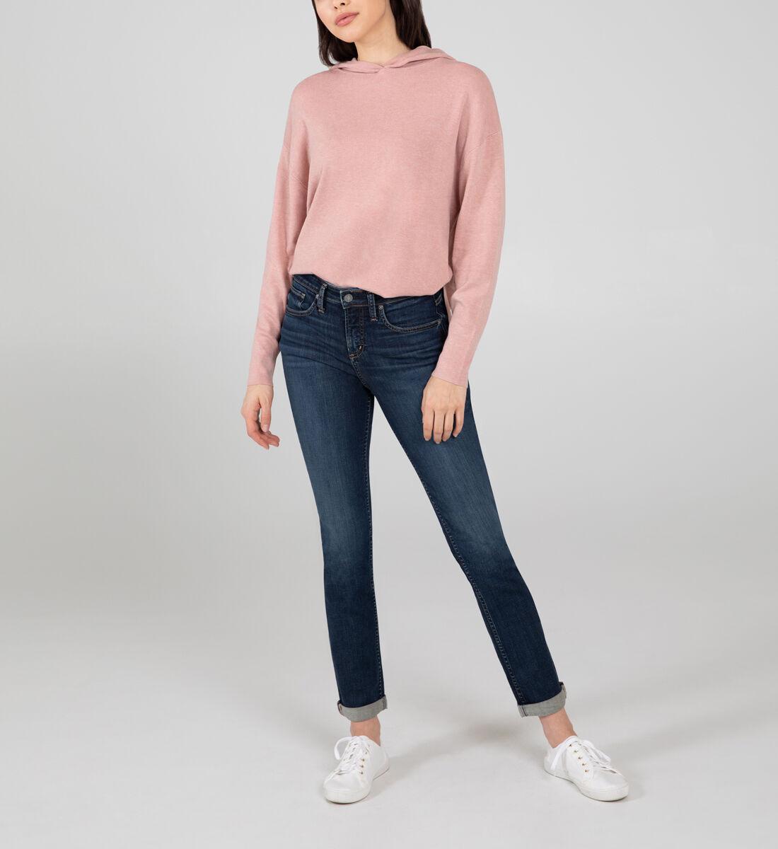 Beau Mid Rise Slim Leg Jeans Front