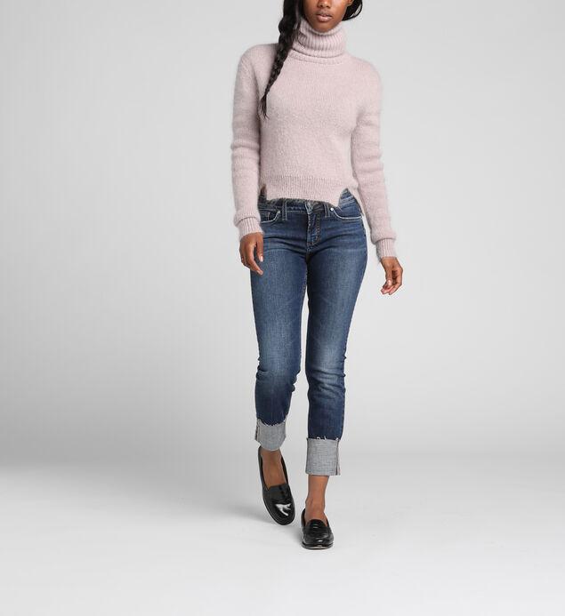 Elyse Mid-Rise Curvy Relaxed Slim Leg Jeans