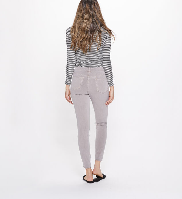 Elyse Super Skinny Mid Rise Color Wash, Blush, hi-res
