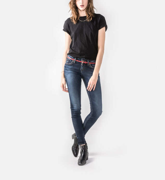 Suki Mid Rise Super Skinny Jeans