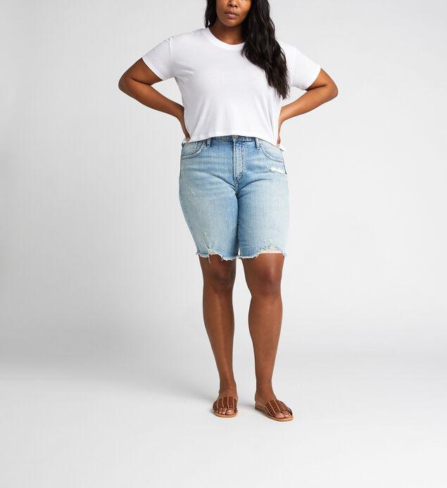 Frisco High Rise Knee Short Plus Size