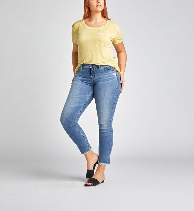 Avery High Rise Slim Leg Jeans