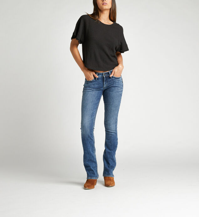 Suki Mid Rise Bootcut Jeans