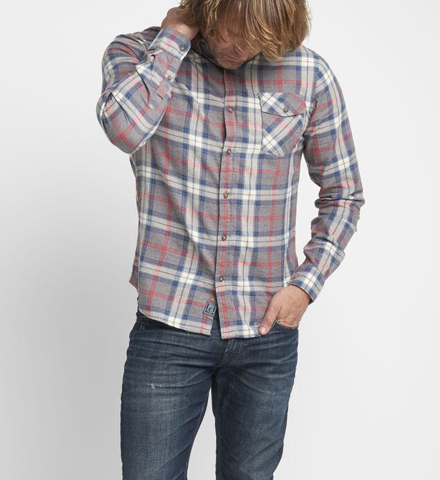 Bronx Plaid Button-Down Shirt