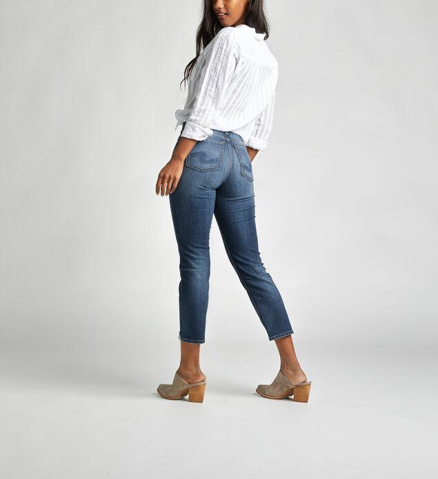 Calley Super High Rise Slim Crop Jeans, , hi-res