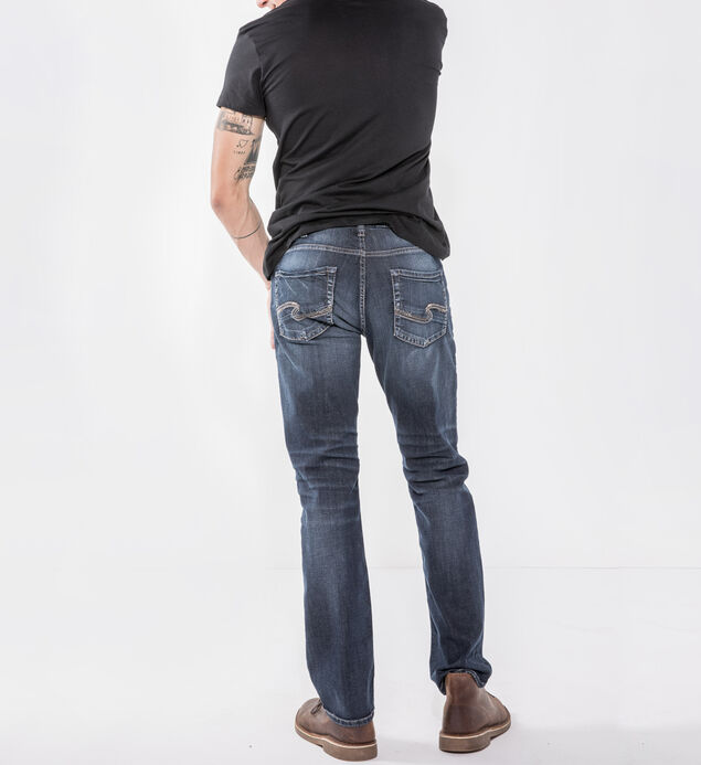 Allan Slim Leg Dark Wash, , hi-res
