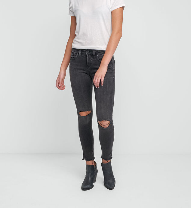 Avery Ankle Skinny Color Wash