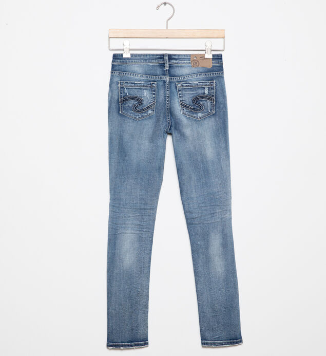 Sasha Distressed Skinny Jeans in  Light Wash (4-7), , hi-res