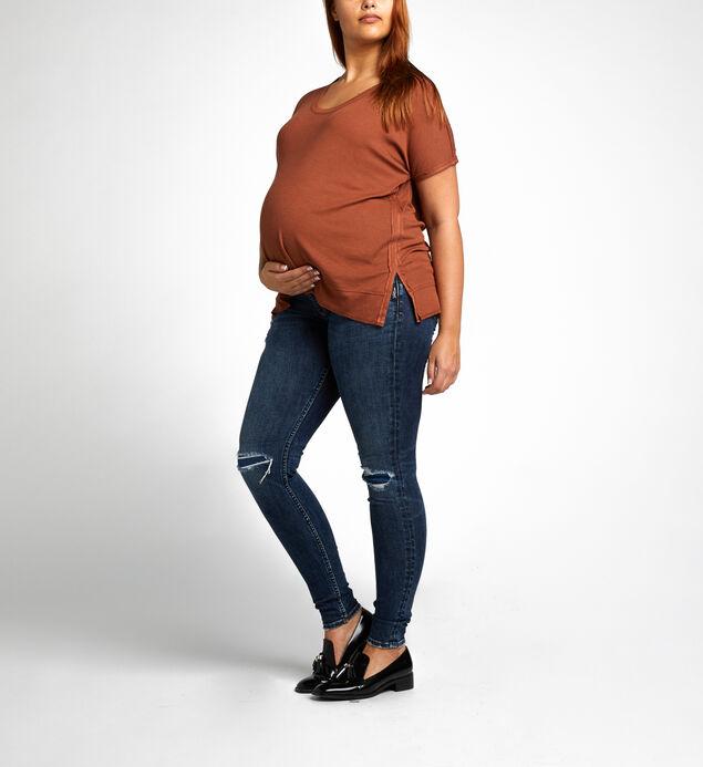 Suki Skinny Mid Dark Wash - Maternity