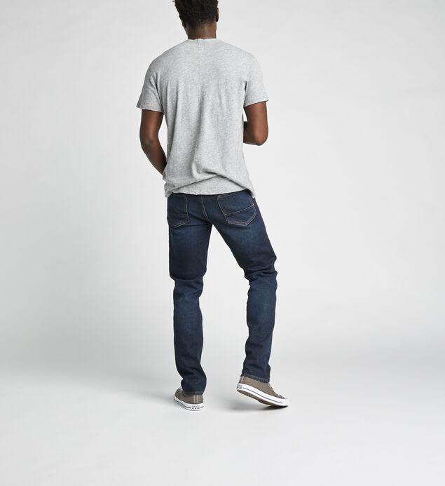 Machray Classic Straight Jeans, Indigo, hi-res