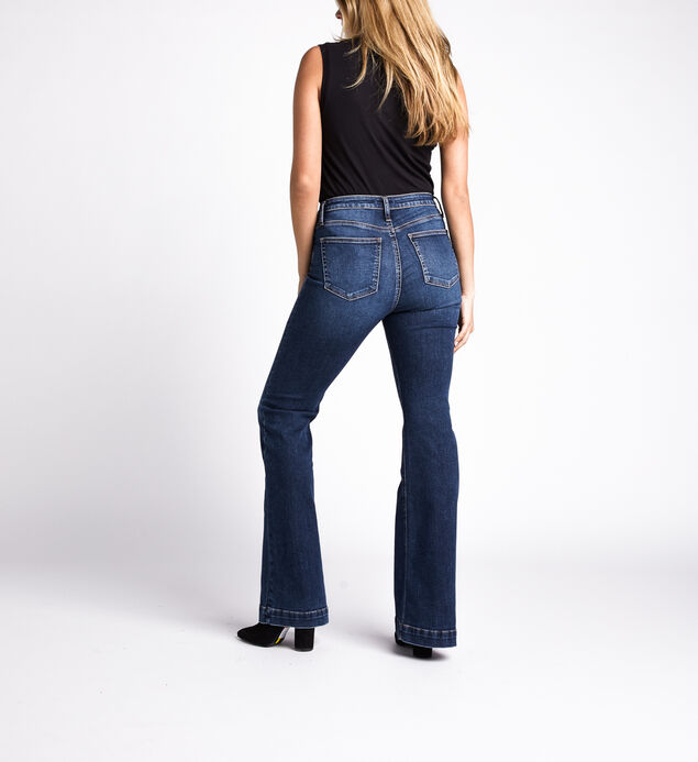 High Note High Rise Flare Jeans, Indigo, hi-res