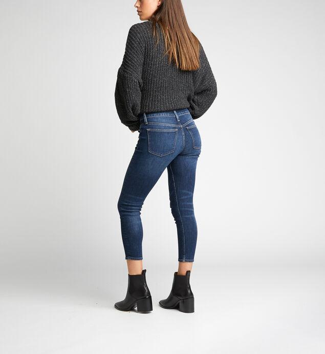 Avery High Rise Skinny Crop Pants, , hi-res