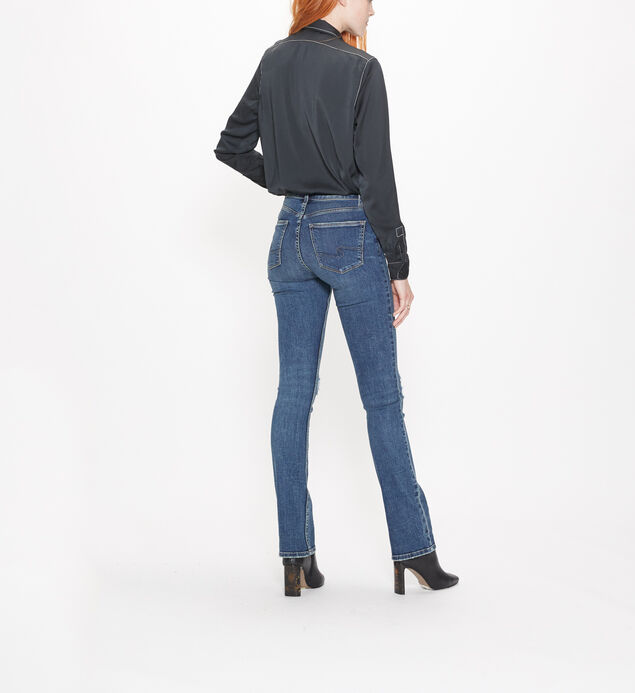 Bleecker Mid Rise Skinny Bootcut Jeans, , hi-res