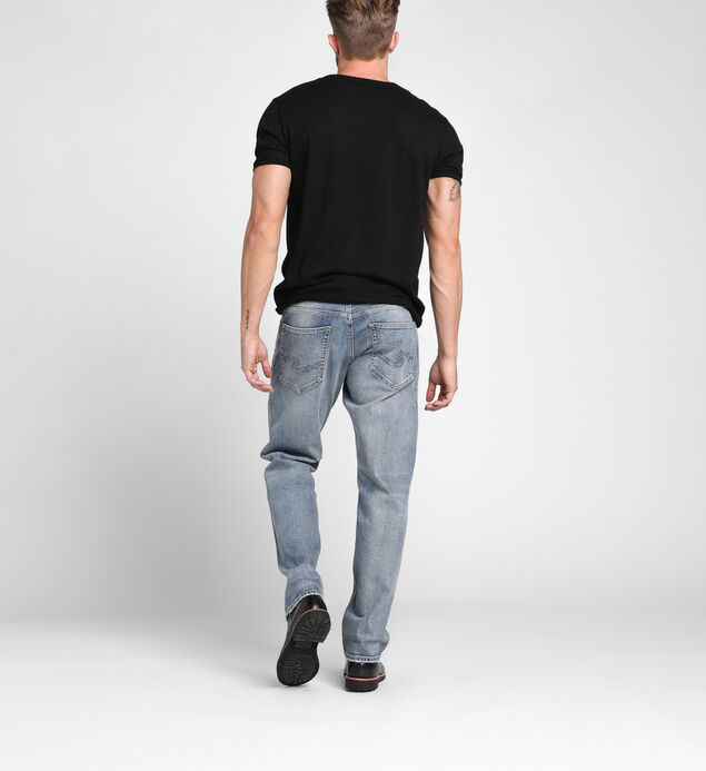 Eddie Tapered Mens Light Wash, , hi-res