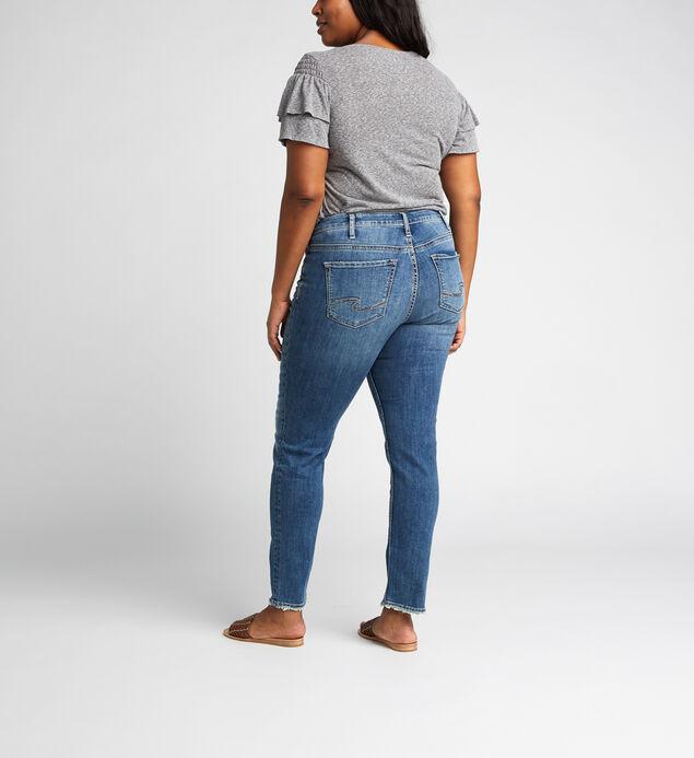 Avery High Rise Slim Leg Jeans Plus Size, , hi-res