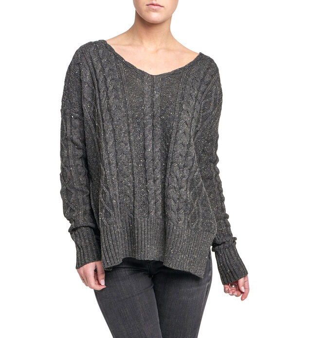 Shelley Cable-Knit Sweater