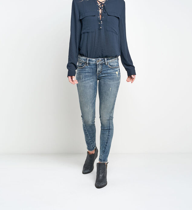 Aiko Ankle Skinny Medium Wash