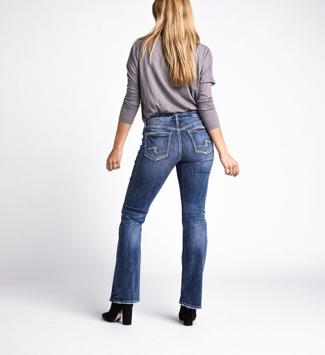 Avery High Rise Bootcut Jeans, Indigo, hi-res