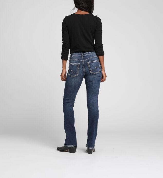 Suki Mid-Rise Curvy Slim Bootcut Jeans, , hi-res