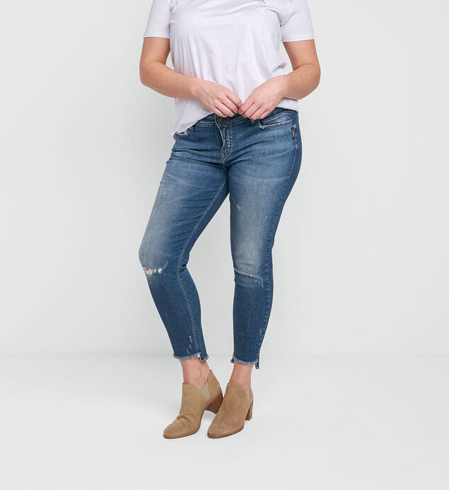 Calley Ankle Skinny Dark Wash