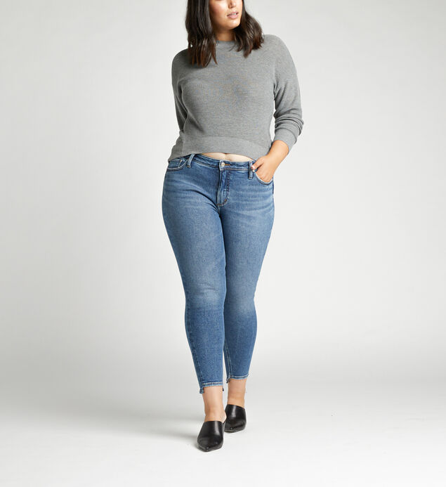 Most Wanted Mid Rise Skinny Plus Size Jeans