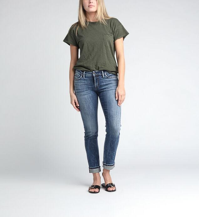 Suki Mid Rise Slim Leg Jeans