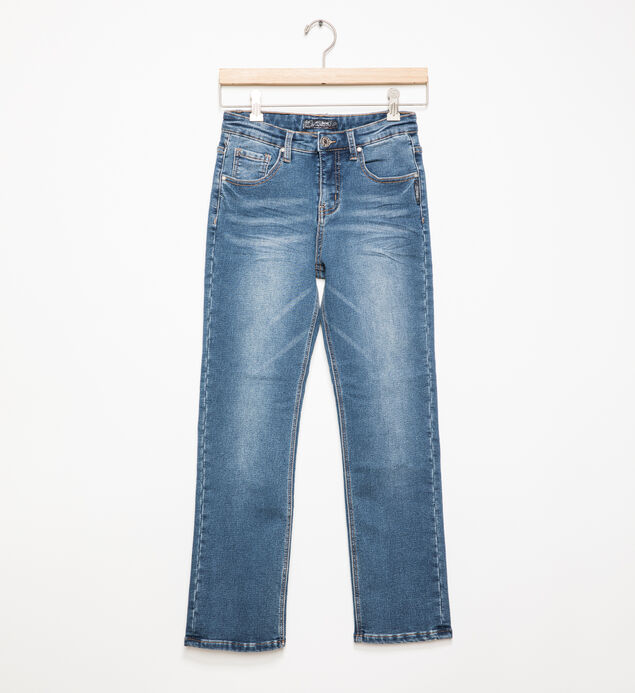 Benny Medium-Wash Straight Leg Jeans (8-16)