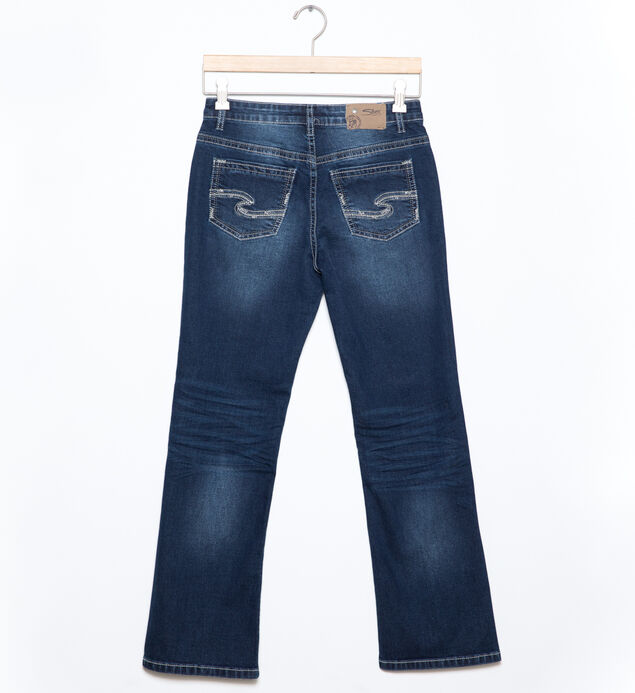 Zane Bootcut Jeans in Dark Wash (7-16), , hi-res
