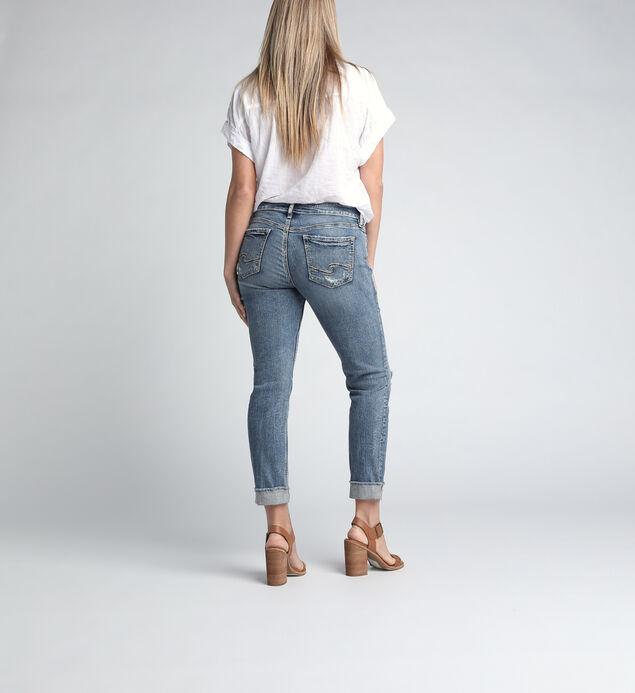 Elyse Mid Rise Ankle Slim Leg Jeans, , hi-res