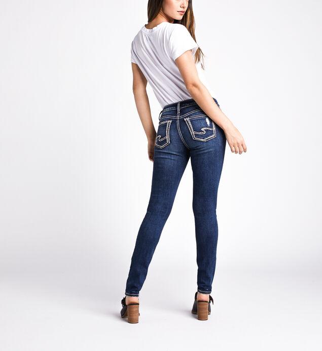 Suki Mid Rise Skinny Leg Jeans, Indigo, hi-res