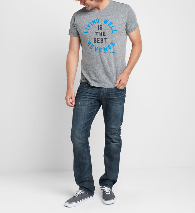 Living Well Graphic Tee, , hi-res