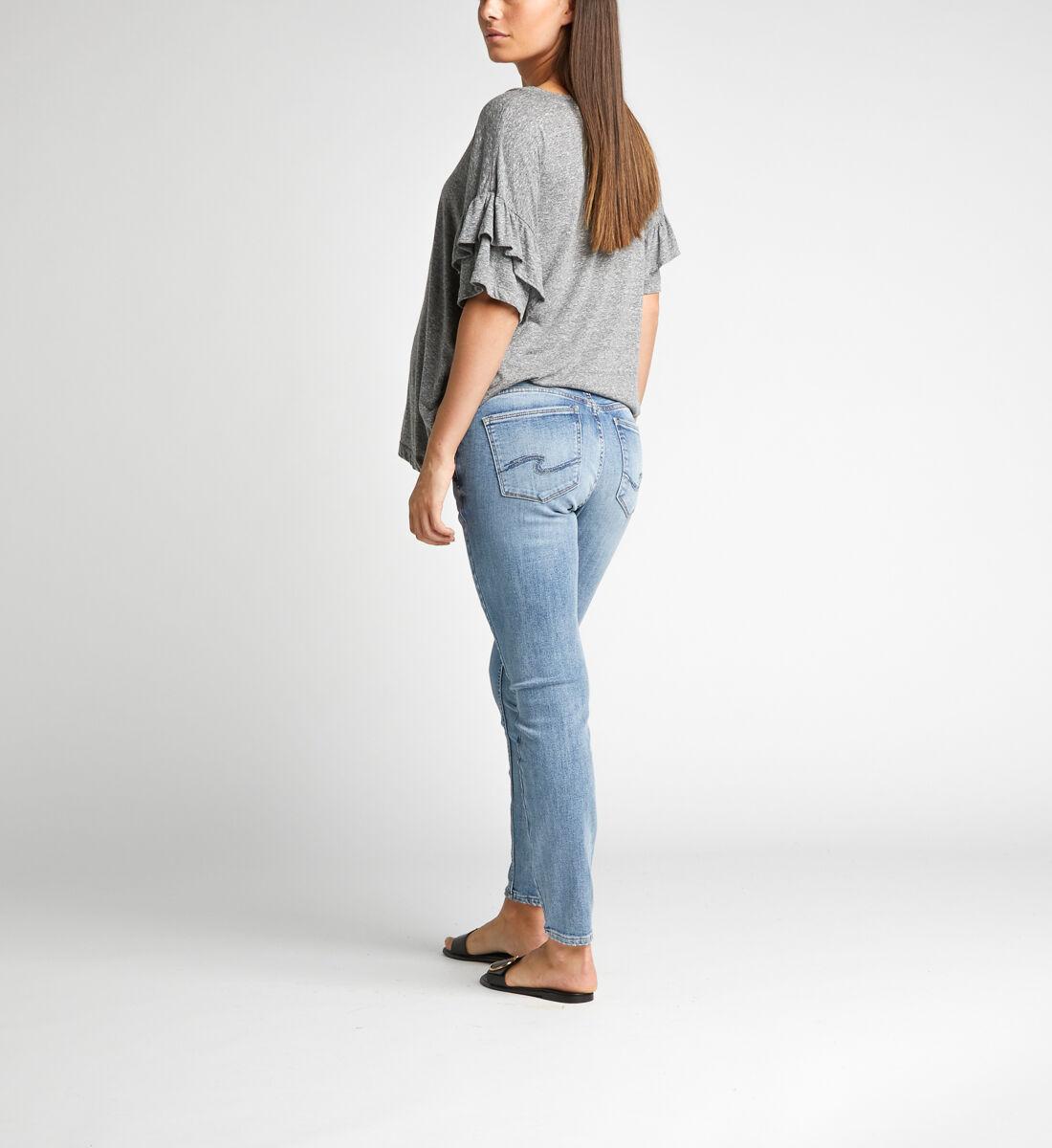 Avery Skinny Leg Maternity Jeans Back