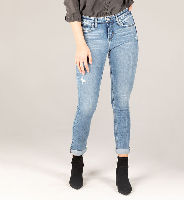 Beau Eco-Friendly High Rise Slim Leg Jeans