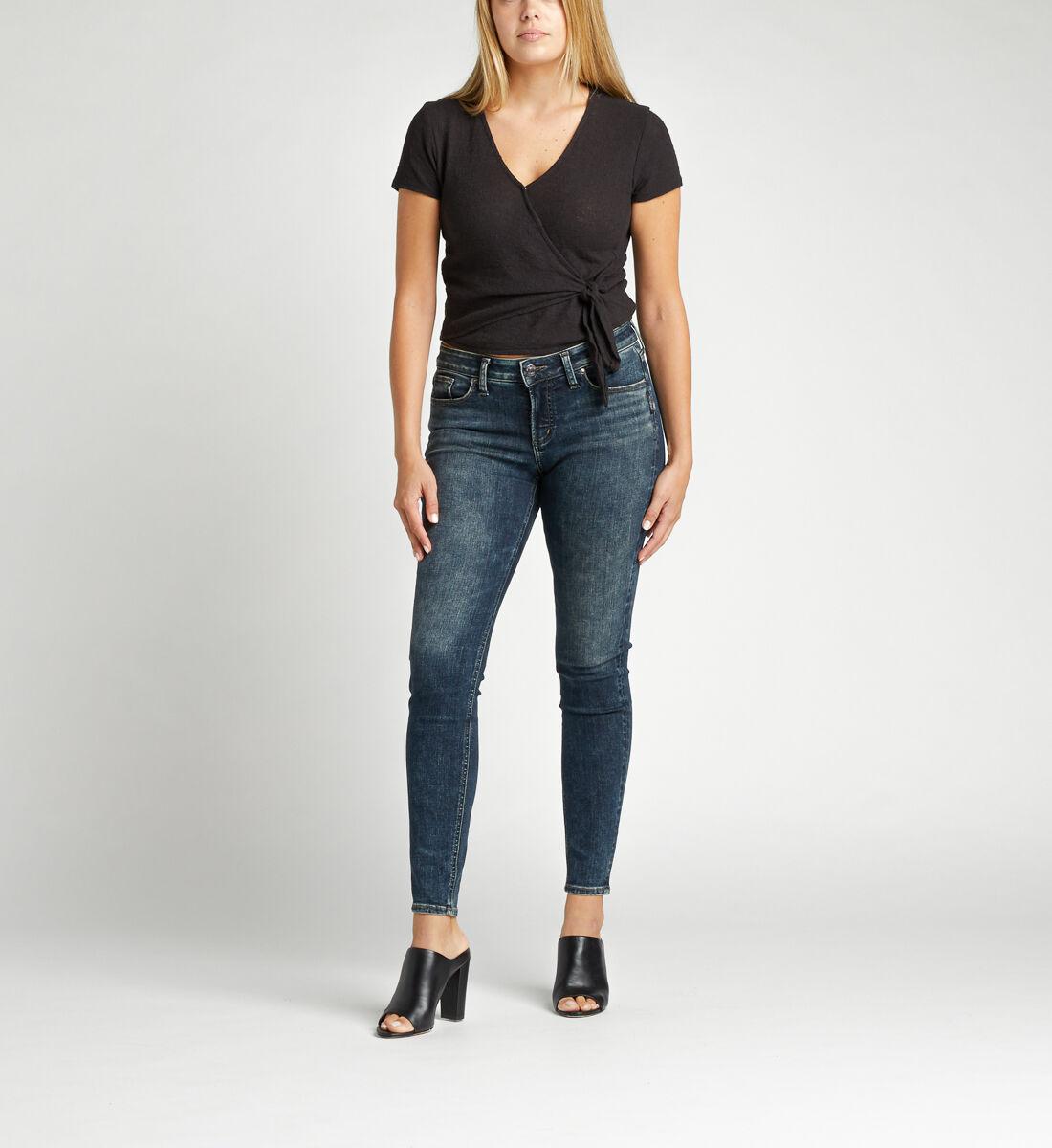 Elyse Mid Rise Skinny Jeans Alt Image 1