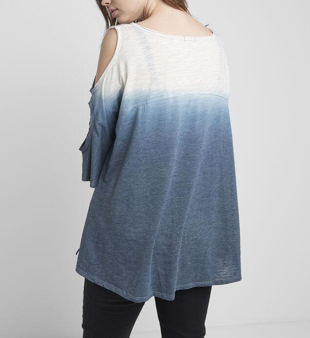 Maddy Ombre Cold-Shoulder Top, , hi-res