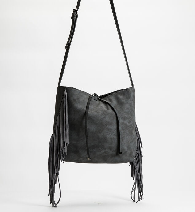 Large Fringe Crossbody