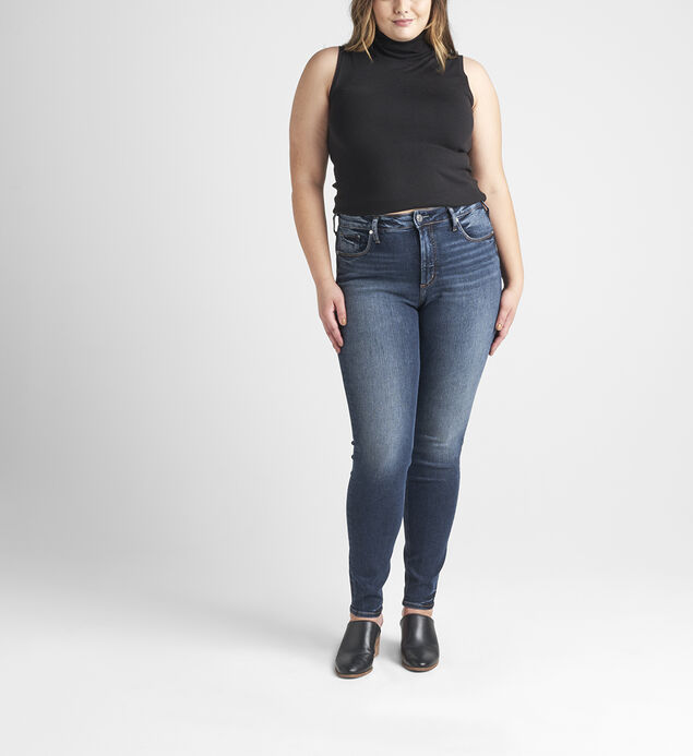 Avery High Rise Skinny Jeans Plus Size