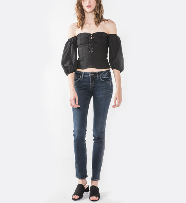 Elyse Straight Dark Wash