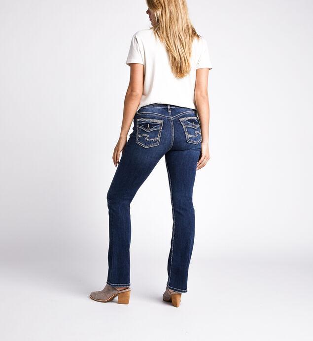 Avery High Rise Slim Bootcut Jeans, Indigo, hi-res