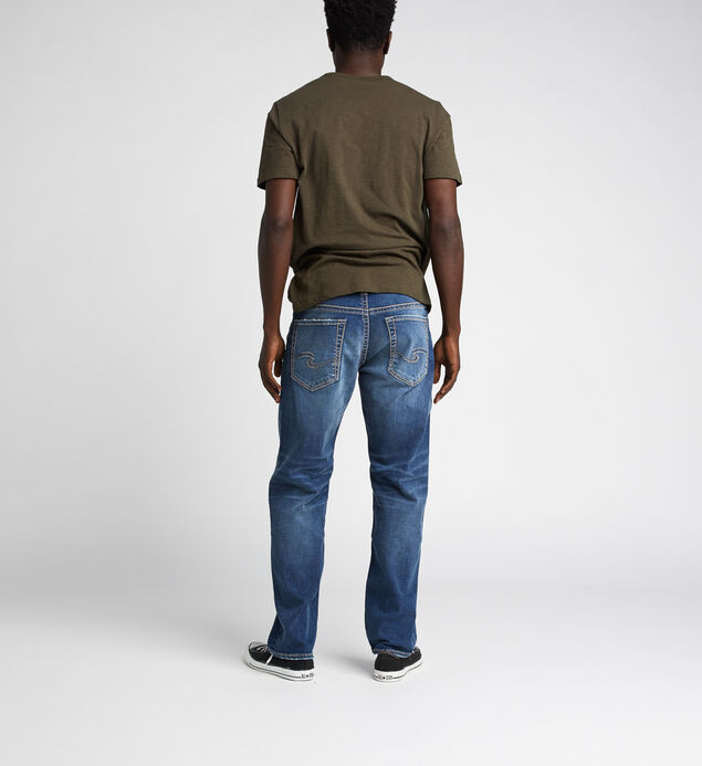 Hunter Loose Fit Tapered Leg Jeans, Indigo, hi-res