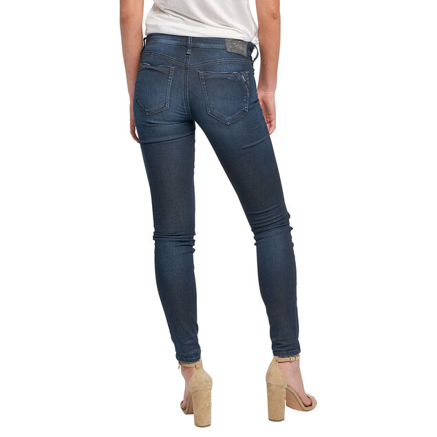 Calley Super Skinny Dark Wash, , hi-res