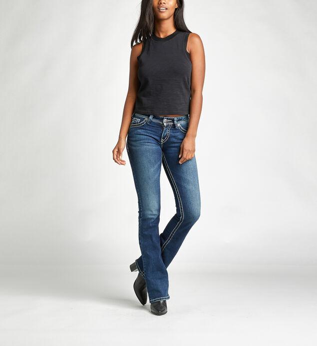 Suki Mid Rise Bootcut Jeans