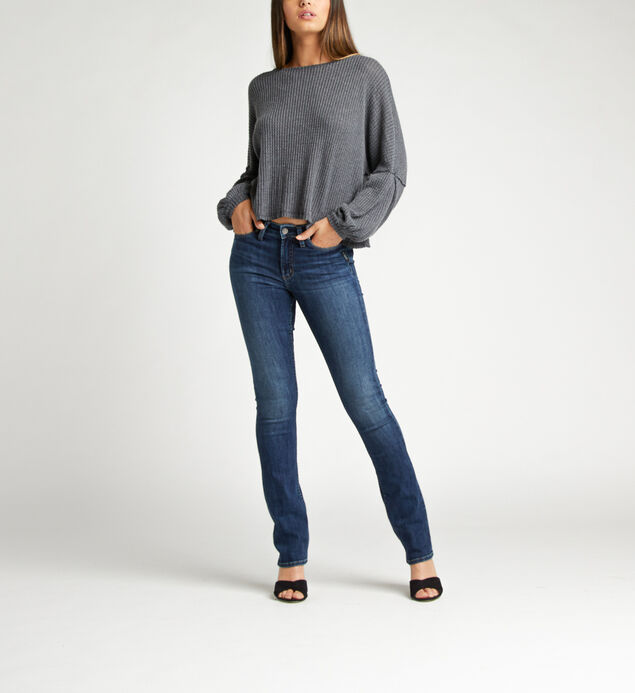Most Wanted Mid Rise Skinny Bootcut Jeans